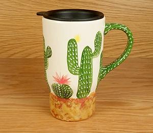 Davie Cactus Travel Mug