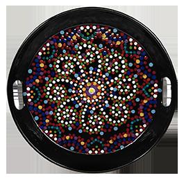 Davie Mosaic Mandala Tray