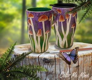 Davie Mushroom Mugs
