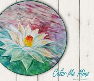 Davie Lotus Flower Plate