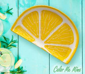 Davie Lemon Wedge