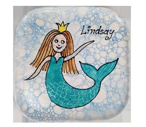 Davie Mermaid Plate
