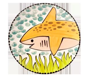 Davie Happy Shark Plate