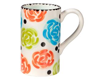 Davie Simple Floral Mug