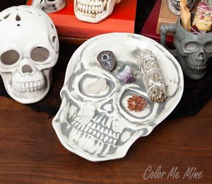 Davie Vintage Skull Plate