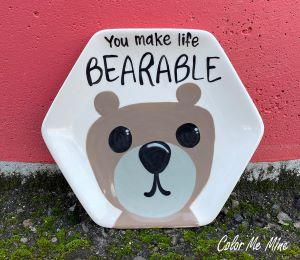 Davie Bearable Plate