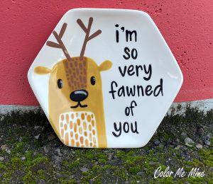 Davie Fawn Plate