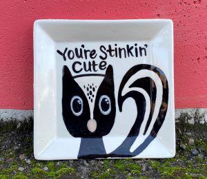 Davie Skunk Plate