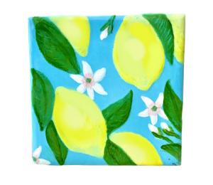 Davie Lemon Square Tile