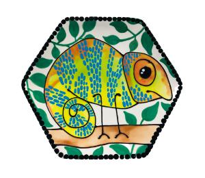 Davie Chameleon Plate