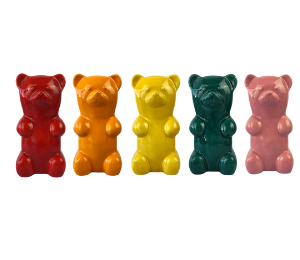Davie Gummy Bear Bank