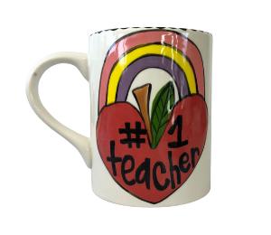 Davie Rainbow Apple Mug