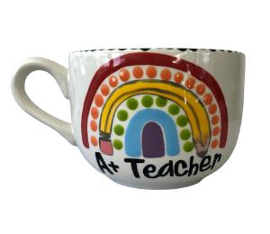 Davie Polka Dot Rainbow Mug